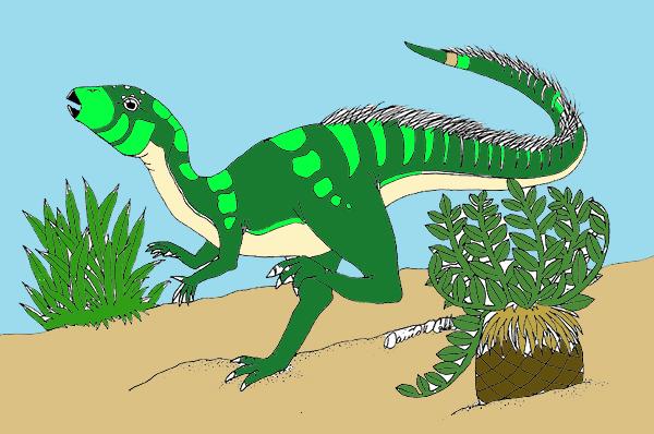 Dryosaurus Drawing