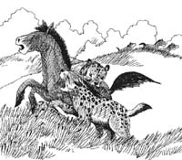 neogene grassland predator prey