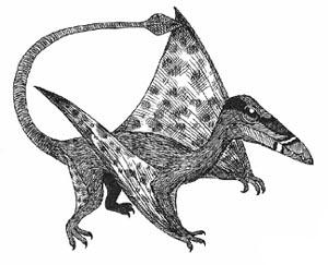 triassic pteradactyl