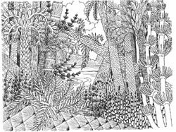 Carboniferous Tree Ferns