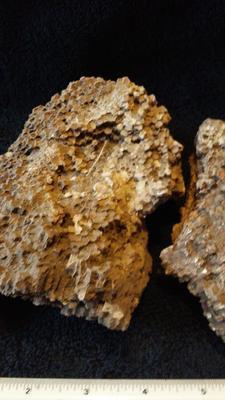 honeycomb rock