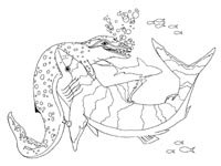 cenozoic animals coloring pages - photo#7