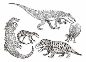 triassic early reptiles